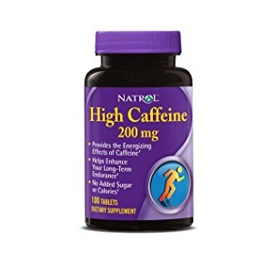 NATROL HIGH CAFFEINE 100 таблеток