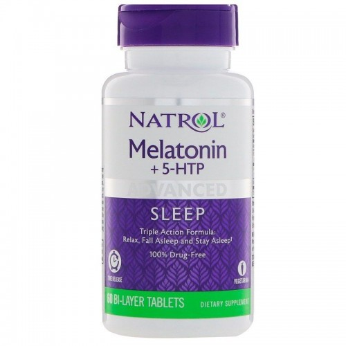 MELATONIN 6 мг+5-HTP 50 мг 60 таб