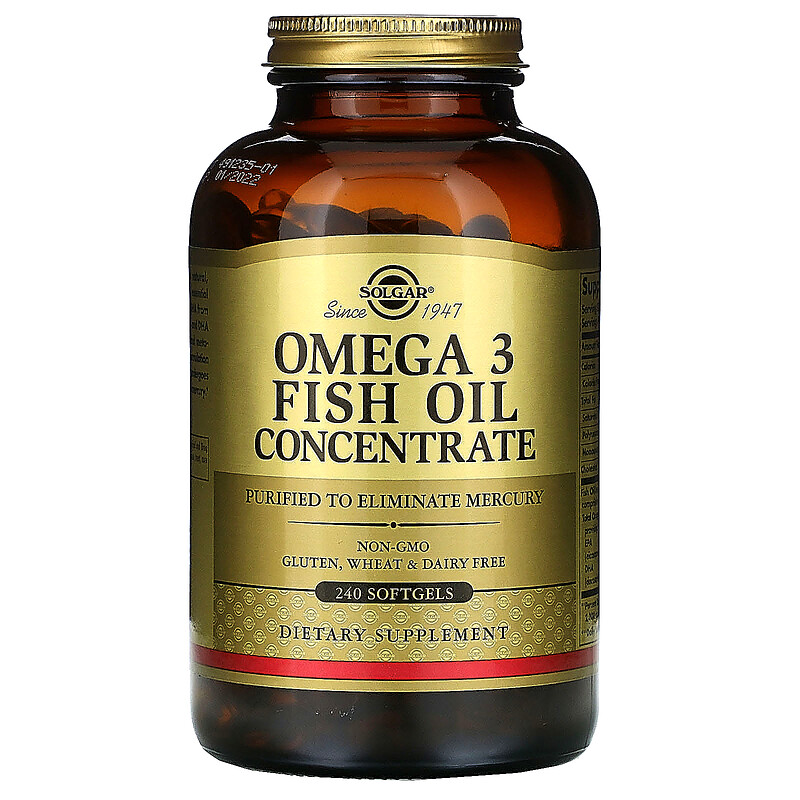 OMEGA-3 CONCENTRATE 240 капс