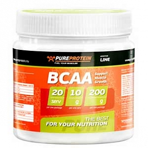 PURE PROTEIN BCAA 200 г