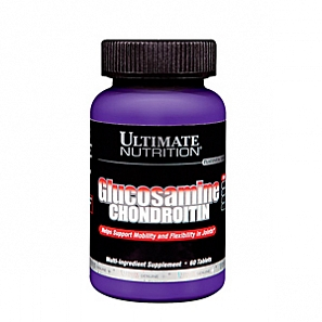 ULTIMATE NUTRITION Glucosamine + Chondroitin  60 таб