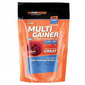PURE PROTEIN Multicomponent Gainer 1000 г