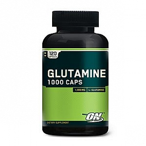 OPTIMUM NUTRITION Glutamine 1000 caps 120 капс
