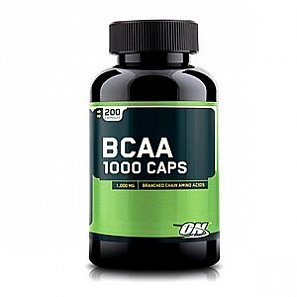 OPTIMUM NUTRITION ВСАА 1000 200 капс
