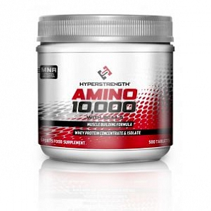 HYPER STRENGHT AMINO 10000 500 таб