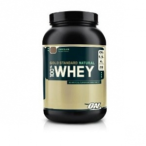 OPTIMUM NUTRITION 100% Whey Protein Natural 909 г