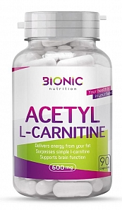 ACETYL L-CARNITINE  90 капс