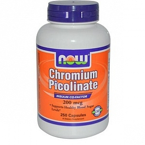 NOW CHROMIUM PICOLINATE 200мкг 100капс