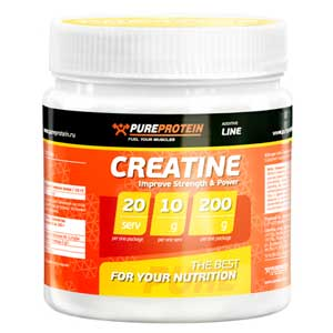 PURE PROTEIN Creatine 200 г