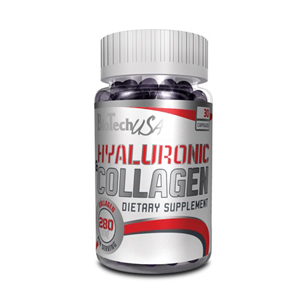BIOTECH USA Hyaluronic & Collagen 30 капс