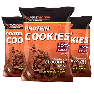 PURE PROTEIN Protein Cookies 35% protein 80г