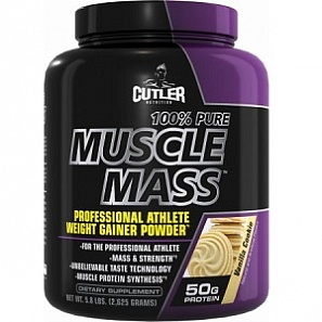 CUTLER NUTRITION PURE MUSCLE MASS 2625г