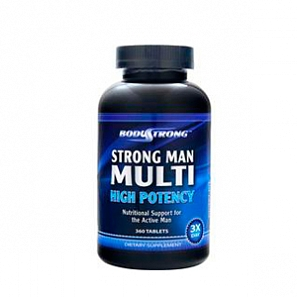 BODYSTRONG Strong Man Multi High Potency 180 таб