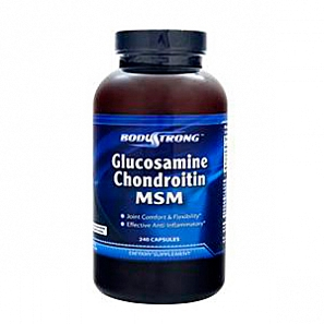 BODYSTRONG Glucosamine Chondroitin MSM 240 капс