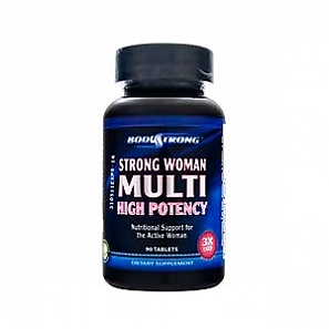 BODYSTRONG Strong Woman Multi High Potency 90 таб