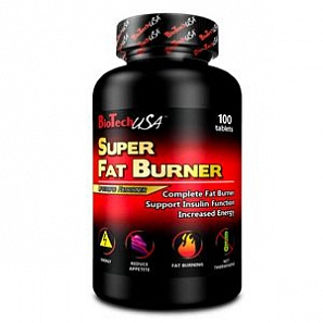 BT USA Super Fat Burner 100 таб, банка