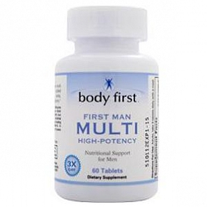 BODY FIRST First Man Multi One-Per-Day  60 таб