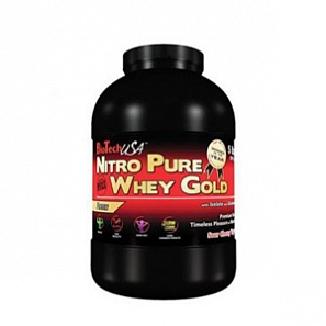 BT USA Nitro Pure Whey Gold 908 г, банка