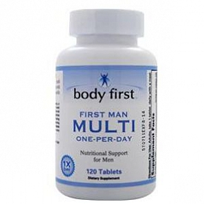 BODY FIRST First Man Multi One-Per-Day 120 таб